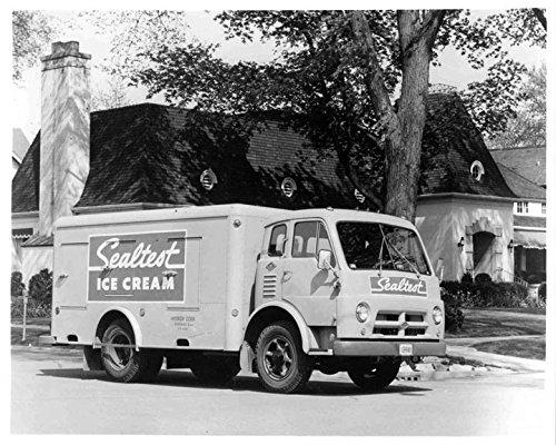 1956 Diamond T Sealtest Ice Cream Truck Factory Photo from AutoLit