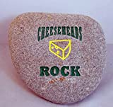 "Packers ""Cheeseheads Rock"" Engraved Stone For Sale"