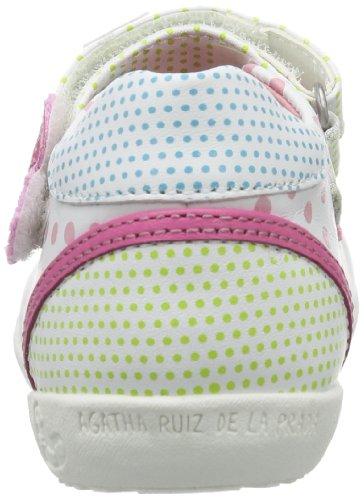 Estampado La Y Bebé weiß Blanco Cuero Talla blanco Agatha Prada Color Zapatos 142908 Ruiz De 21 Blanco Para 1naET