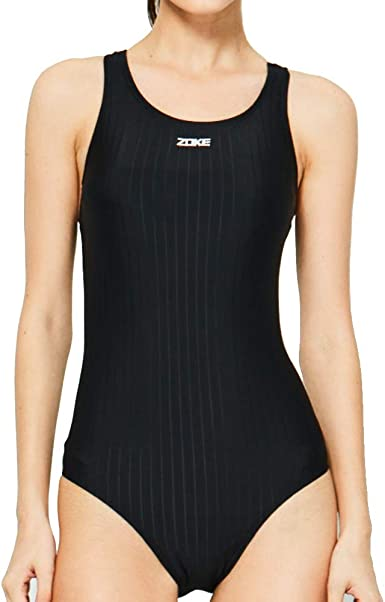 AUGA Women Conservative Athletic Training Racerback Shaping Body One Piece Swimsuit Swimwear Bathing Suit XXS RACING-ONE-PIECE-SWIMSUIT/_XXS