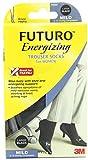 Futuro Energizing Support Trouser Socks for Women, Black, Large, Mild (8-15 mm/Hg)- 6 Pairs