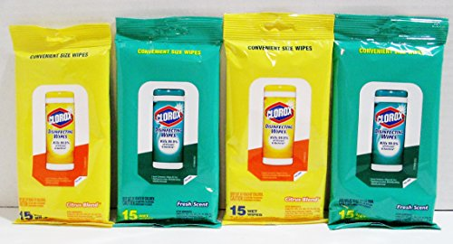 4-pk-clorox-disinfecting-wipes-travel-size-2-ea-fresh-scent-citrus-blend-scent
