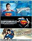 Superman: The Movie / Superman II: The Richard Donner Cut / Superman Returns [Blu-ray] by Warner Home Video