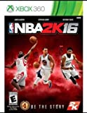 NBA 2K16 (Microsoft Xbox 360, 2015) Brand NEW Sealed