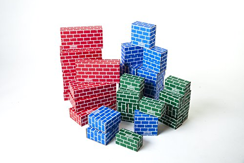 cardboard building blocks - 5