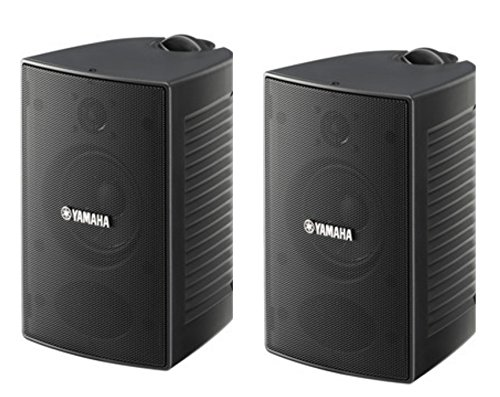 Yamaha High-Performance Natural Surround Sound 2-Way Indoor/Outdoor Weatherproof Home Theater Speakers (Pair) by Yamaha