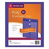 SMD89544 - Smead 89544 Purple Poly Envelopes with String-Tie Closure