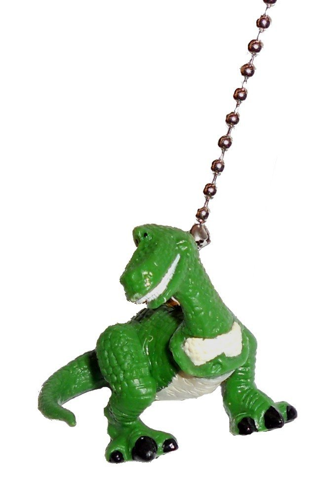 Disney Classic Disney movie TOY STORY assorted Character Ceiling FAN PULL light chain (Rex)