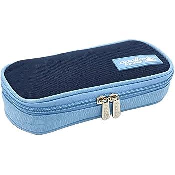 goldwheat Portable Insulin Cooler Bag Diabetic Organizer Medical Travel Cooler (Dark Blue)