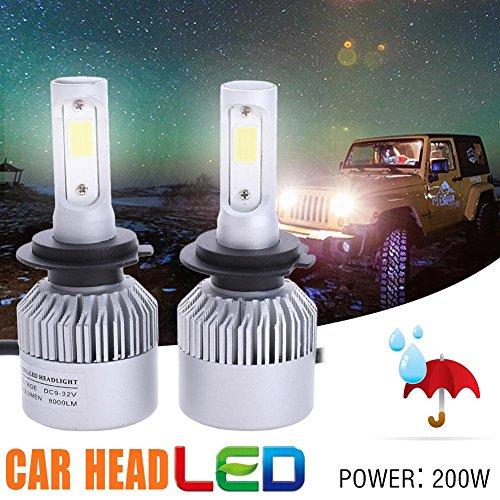 H7 200W 20000LM LED Headlight Conversion Kit Car Beam Bulbs UK (Best H7 Bulbs Uk)