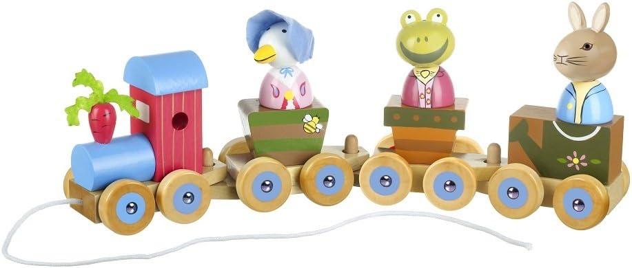 Orange Tree Toys Peter Rabbit /& Friends Puzzle-Zug,