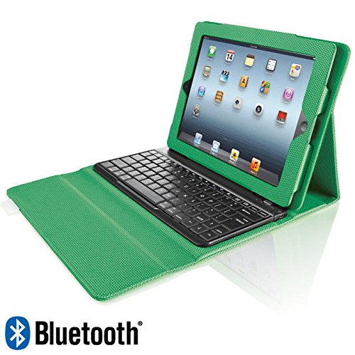 Bluetooth Keyboard with Tech-Grip Case for iPad Tablets by Brookstone
