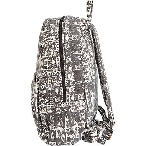 - Billabong Womens Hand Over Love Backpack One Size Distressed Black
