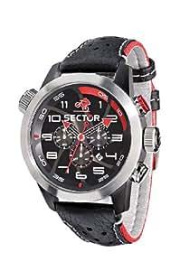 Sector Urban R3271602125 - Reloj de caballero de cuarzo, correa de piel color negro
