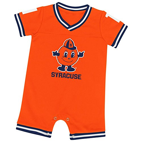Colosseum Syracuse University Infant Romper Baby Boy Jersey Onepiece (0-3 M)