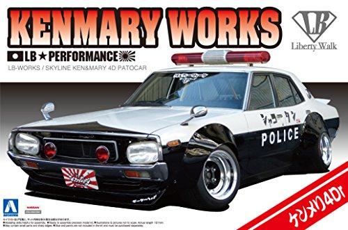 (1/24 Liberty Walk Series No.07 LB Works Kenmeri 4Dr patrol car)