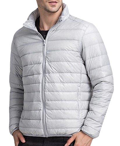 Cappotto Xl Grigio Atletico Piumino Degli Noi Packable Puffer Outwear Di Chiaro Eku Uomini PwqtAHvw