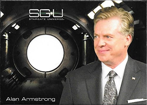 Superstar Movie Costume (2010 Stargate Universe Season 1 Costumes Alan Armstrong White Shirt Relic Card)