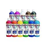 Colorations Simply Washable Tempera Paint - 16 oz., Set of 11 Colors