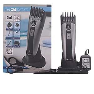 Clatronic HSM/R 3313 - Cortapelos para cabello y barba