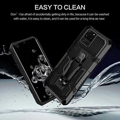 Compatible para Samsung Galaxy Note 20 Ultra 5G Funda Grado Militar Antigolpes Original Rugged Armor Protecci/ón Bumper Carcasa Soporte Giratorio 360 Grados Anillo Caso para Samsung Note 20 Ultra 5G