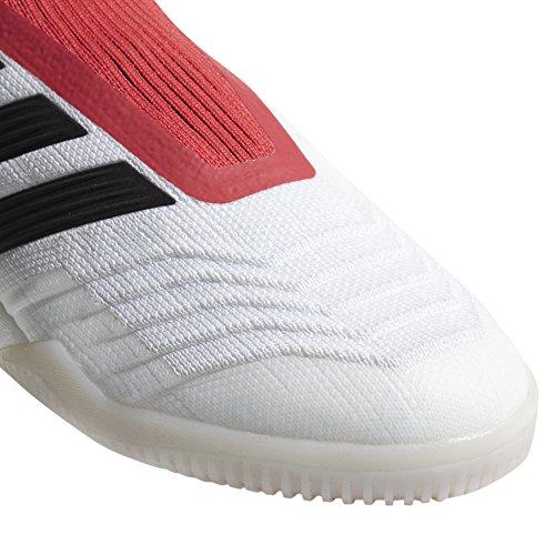adidas Predator Tango 18+ in, Scarpe da Calcio Uomo Bianco (Ftwwht/Cblack/Reacor Ftwwht/Cblack/Reacor)