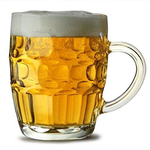 Arcoroc Britannia British Pub Imperial Pint Dimple Glass Beer Mug 20 oz ()