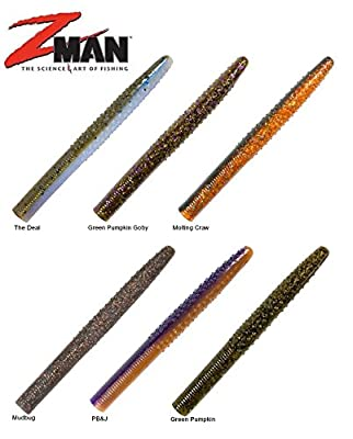 "Z-Man Big TRD4 4"" 10X Tough ElaZtech 6-Pack"