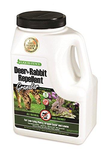 Liquid Fence HG-72654 Deer & Rabbit Granules Repellent, 5 lb
