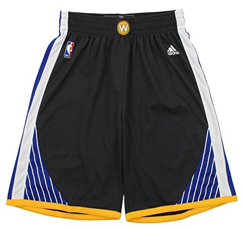 Golden State Warriors Carbon adidas Swingman Basketball Shorts (Adidas Mens Nba Performance Short)