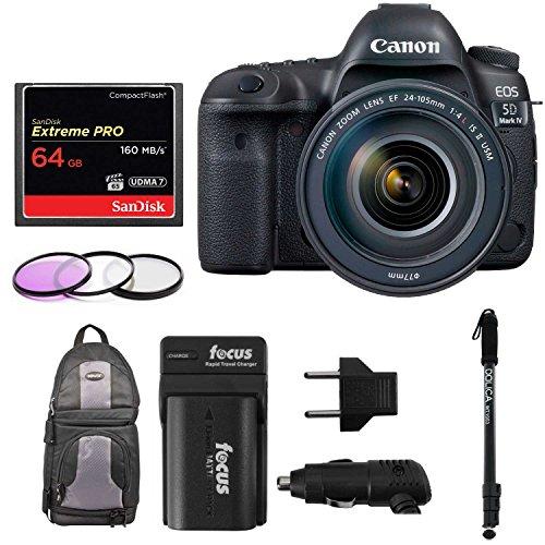 Canon EOS 5D Mark IV Full Frame Digital SLR Camera Bundles