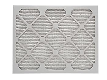 Aerostar 16 12x21 12x1 Merv 8 Pleated Air Filter, Pleated (Pack Of 6) 1