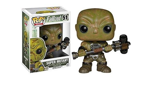 FunKo Cabezón Super Mutant 9 cm. Fallout. Línea Pop! Games: Amazon.es: Juguetes y juegos