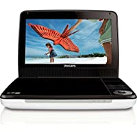 Philips PD9000/37 9-Inch LCD Portable DVD Player -Silver/Black (Certified Refurbished)