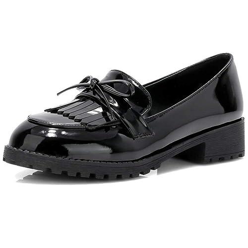 df500550329c0 ionlyou - Mocasines de Charol para Mujer  Amazon.es  Zapatos y complementos
