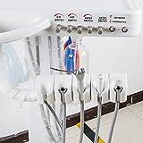 Enshey 4-HOLE Dental Mobile Cart Portable