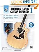 #9: Alfred's Basic Guitar Method, Bk 1: The Most Popular Method for Learning How to Play (Alfred's Basic Guitar Library)