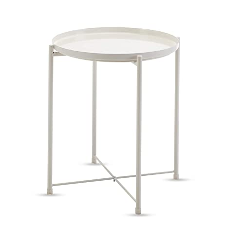 Amazon.com: Mesa redonda, Metal: Kitchen & Dining