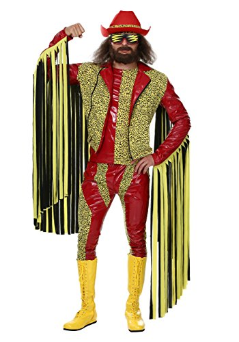 Fun Costumes Mens Macho Man Randy Savage Costume Large - Ric Flair Robe