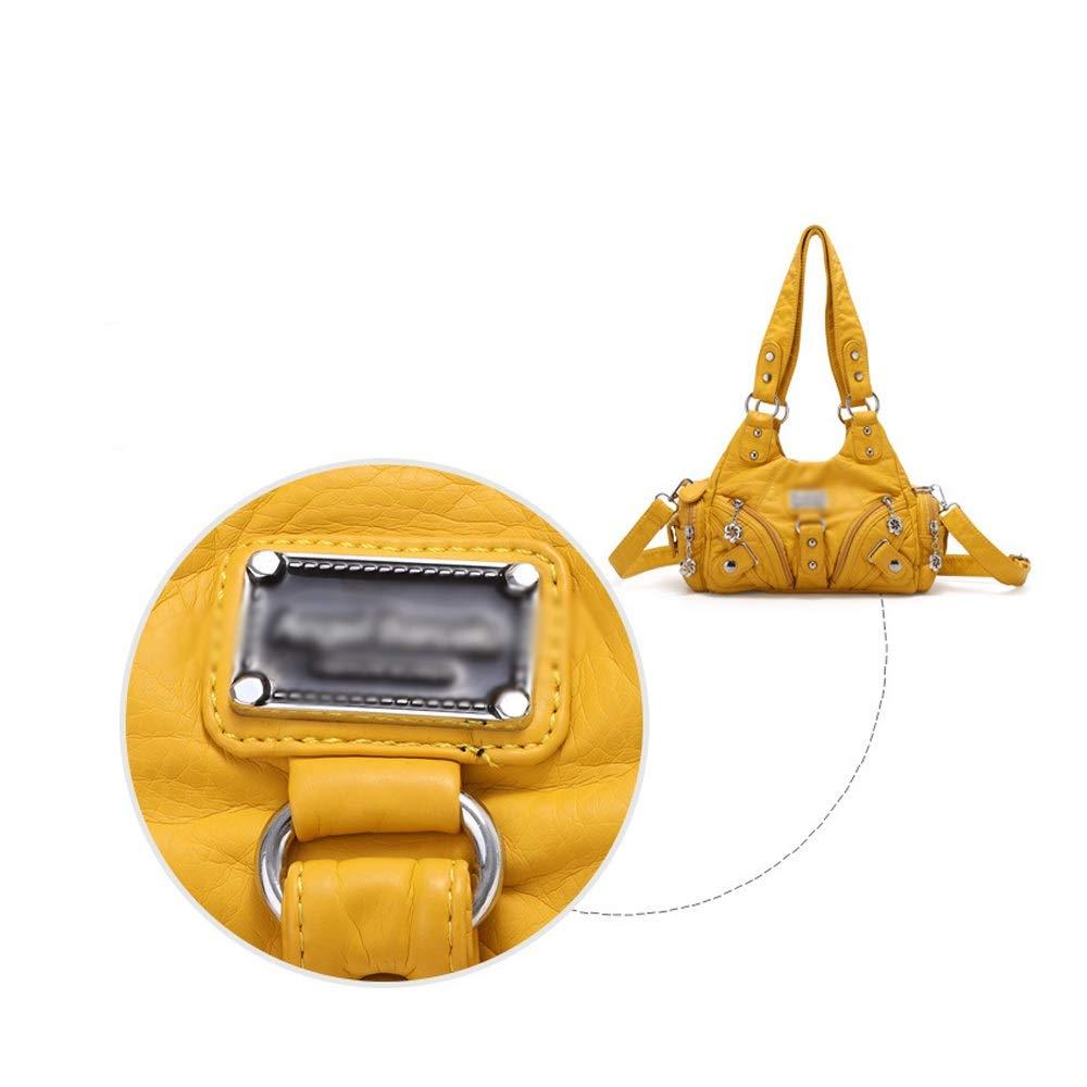 Ysswjzz Axelväskor för kvinnor, sommarmode axelväskor, små väskor, damväskor, messengerväskor, foderstruktur: Polyester bomull M