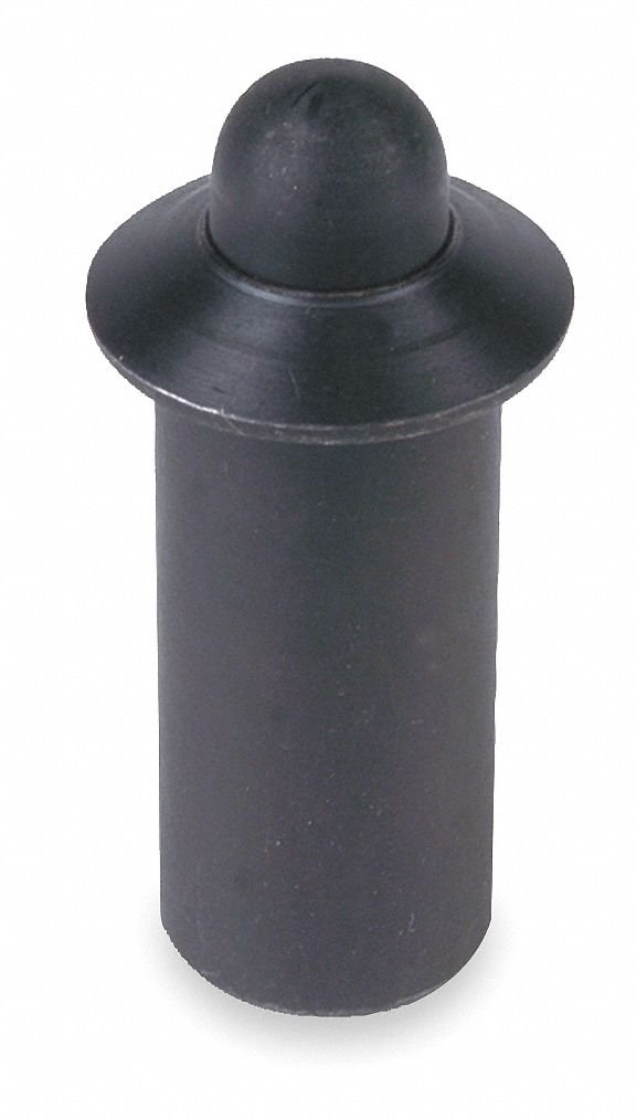 Plunger, Press Fit, Steel, B/O, 0.521, PK5