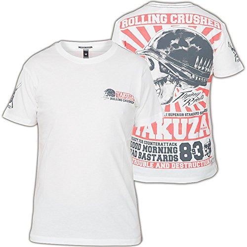 Yakuza Premium T-Shirt YPS-1804 Weiß, S