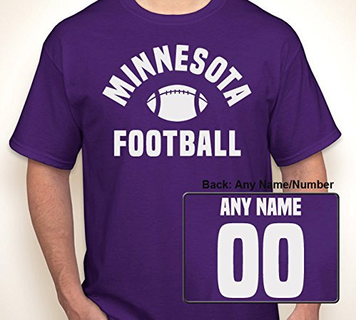 MINNESOTA FOOTBALL: ANY NAME/ANY NUMBER JERSEY | T-shirt S-6XL by Xuume from Blast Gear