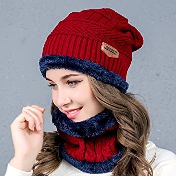 bd726f2f92a Antumn Water - Cora Wang Balaclava Knitted hat scarf caps neck warmer Winter  Hats For Men