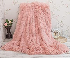 Soffte Cloud Super Soft Long Shaggy Warm Plush Fannel Blanket Throw Qulit Cozy Couch Blanket for Winter by soffte cloud