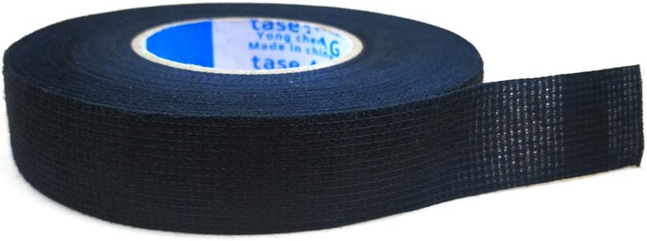 Festnight Adhesive Cloth Fabric Tape Cable Looms Wiring Harness for TESA 51618 19mm x 25m