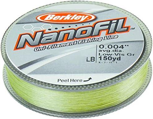 CLEAR MIST BERKLEY NANOFIL 8lb 150yds uni-filament line Free postage