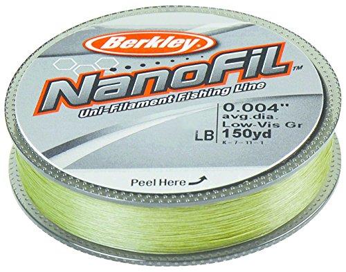 Cheap Berkley 150 – yd. Nanofil Uni – Filament Clear Mist, Lo-Vis Green, 6 LB