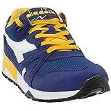 Diadora Men's N9000 III Running Shoe (9 D (M) US, Estate Blue/Daffodil)