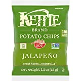 Kettle Brand Potato Chips, Jalapeno, Single-Serve
